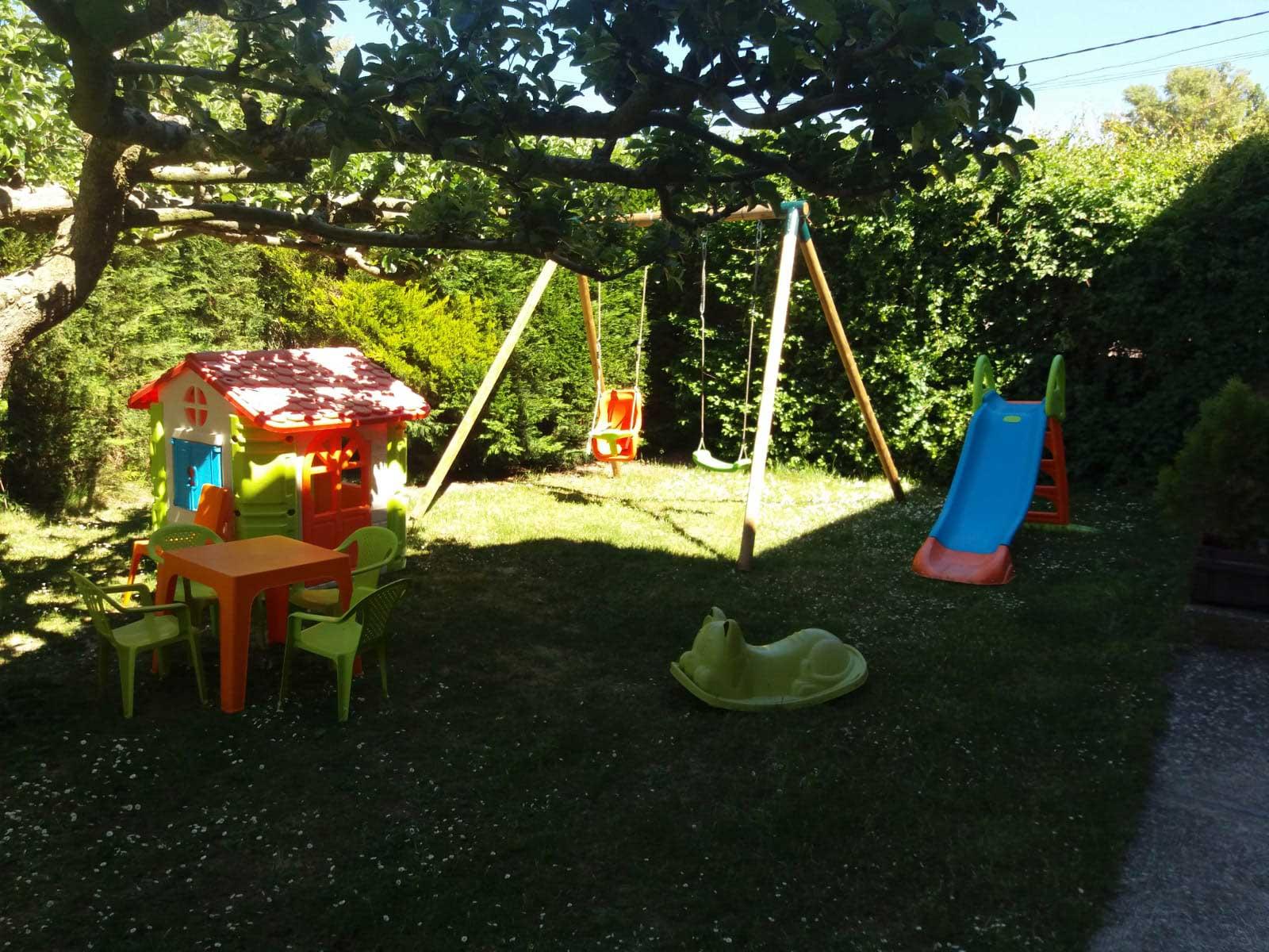 Casa Rural el Novegal - Jardín
